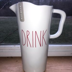 Rae Dunn Melamine Drink Pitcher